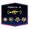3 Medals CSGO Account With Steam Level 34