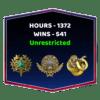 High Wins & High Hours CSGO Account