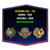 VIP Smurf CSGO Account With Medals